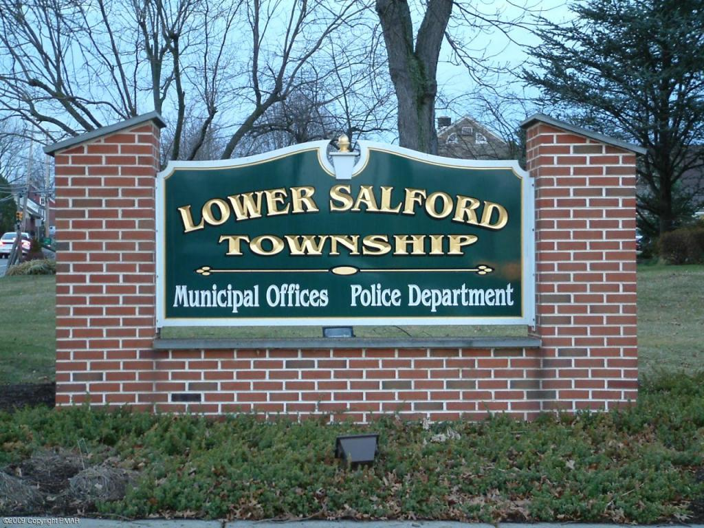 View of Lower Salford Sign